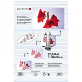 Olympia 9175 Φύλλα πλαστικοποίησης για Α3 σε κουτί 125 microns 50 τμχ - OLYMPIA