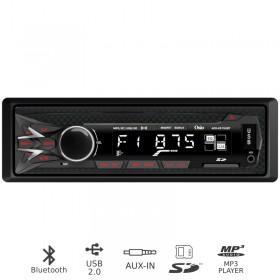 Osio ACO-4515UBT Ηχοσύστημα αυτοκινήτου με Bluetooth, κάρτα SD και Aux-In - OSIO