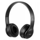 Ασύρματα ακουστικά bluetooth - Headphones - P47 - Black