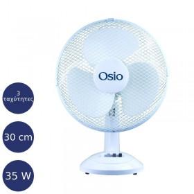 """Osio EFT-4010 Επιτραπέζιος ανεμιστήρας 30 cm (12"""") 35 W - OSIO"""