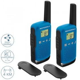 Motorola TALKABOUT T42 Walkie Talkie Μπλε 4 km - MOTOROLA