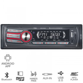 OSIO ACO-4520UBT ΡΑΔΙΟ USB ΑΥΤΟΚΙΝΗΤΟΥ ΜΕ BLUETOOTH, ANDROID APP, MICRO SD ΚΑΙ AUX-IN - OSIO