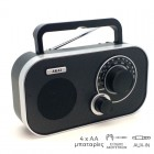 Akai APR-5112 Φορητό αναλογικό ραδιόφωνο με Aux-In και είσοδο ακουστικών - AKAI
