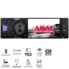 Akai CA015A-4108S Ηχοσύστημα αυτοκινήτου με μεγάλη οθόνη, Bluetooth, USB, micro SD και Aux-In - AKAI