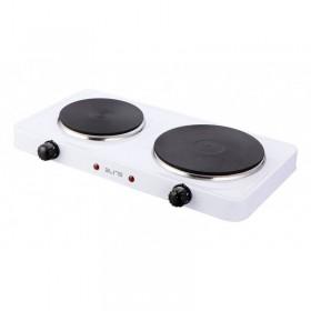 Elite EHP-0283W Διπλή ηλεκτρική εστία κουζίνας 2500 W - ELITE