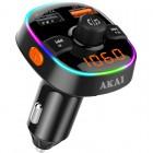 Akai FMT-52BT FM transmitter με LED, Hands Free, φορτιστή αυτοκινήτου, Bluetooth, micro SD, και 2 USB - AKAI