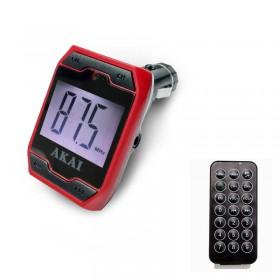 Akai FMT-701D FM transmitter με USB και κάρτα SD - AKAI