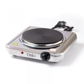 Osio OHP-2418 Μονή ηλεκτρική εστία κουζίνας inox 18.5 cm με θερμοστάτη 1500 W - OSIO