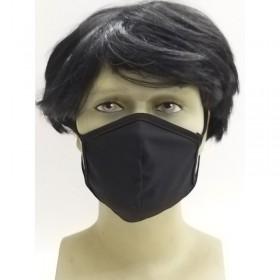Osio OFM-3205BL Υφασμάτινη μάσκα προστασίας προσώπου μαύρη - OSIO