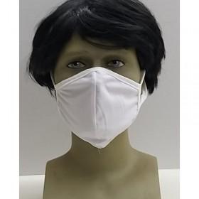 Osio OFM-3205W Υφασμάτινη μάσκα προστασίας προσώπου λευκή - OSIO