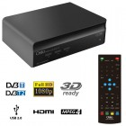 OSIO OST-7075FHD DVB-T/T2 FULL HD MPEG-4 USB 3D EΠIΓEIOΣ ΨHΦIAKOΣ ΔΕΚΤΗΣ - OSIO