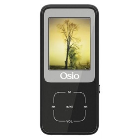OSIO SRM-8380B MP4 / MP3 PLAYER ΜΑΥΡΟ 8GB - OSIO