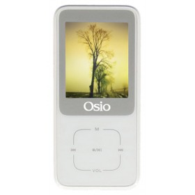 OSIO SRM-8380W MP4 / MP3 PLAYER ΛΕΥΚΟ 8GB - OSIO