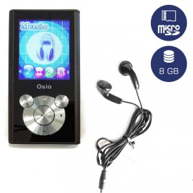 Osio SRM-9080BS MP3 video player 8 GB - OSIO