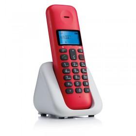 Motorola T301 Cherry (Ελληνικό Μενού) Ασύρματο τηλέφωνο με ανοιχτή ακρόαση - MOTOROLA