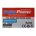 ΜΠΑΤΑΡΙΑ SONY ERICSSON R600 700mAh Li-ion VoltePower
