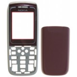 NOKIA 1650 RED BACK-FRONT COVER  3P OR