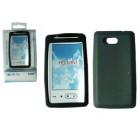 ΘΗΚΗ HTC T5555 HD mini ΣΙΛΙΚΟΝΗΣ BLACK VOLTE-TEL