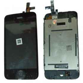 IPHONE 3G ΟΘΟΝΗ + TOUCH SCREEN+LENS+HOME BUTTON+SPEAKER (FLEX)