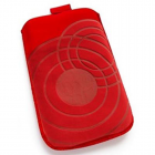 ΘΗΚΕΣ ΠΟΥΓΚΙ SLIM CASE LOOP V615 VOLTE-TEL RED Μ