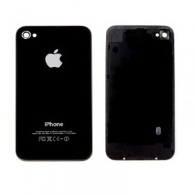 IPHONE 4G BLACK BATTERY COVER