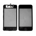 IPOD TOUCH 3 TOUCH SCREEN+LENS BLACK+FRAME HOME BUTTON COMPLETE