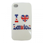 VOLTE-TEL ΘΗΚΗ IPHONE 4G/4S FACEPLATE I LOVE LONDON V026