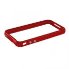 ΘΗΚΗ IPHONE 4G/4S BUMPER METAL BUTTON RED-RED VOLTE-TEL