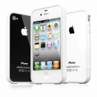 ΘΗΚΗ IPHONE 4G/4S BUMPER 2 PCS + SCREEN PROTECTOR WHITE ALL