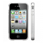 VOLTE-TEL ΘΗΚΗ IPHONE 4G/4S BUMPER 2 PCS + SCREEN PROTECTOR SILVER ALL