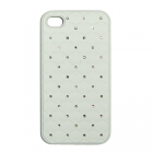VOLTE-TEL ΘΗΚΗ IPHONE 4G/4S FACEPLATE DIAMOND V032 WHITE
