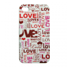 VOLTE-TEL ΘΗΚΗ IPHONE 4G/4S FACEPLATE LOVE V041