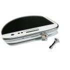 EARPHONE ANTI-DUST JACK PLUG 3.5mm DIAMOND WHITE