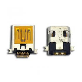 ALCATEL OT708/OT799/mini USB ΚΟΝΕΚΤΟΡΑΣ ΦΟΡΤΙΣΗΣ 3P OR