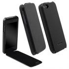 KRUSELL ΘΗΚΗ IPHONE SE/5S/5 LEATHER SLIMCOVER BLACK