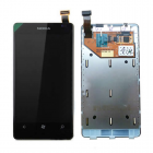 NOKIA LUMIA 800 ΟΘΟΝΗ + TOUCH SCREEN + LENS + FRONT BLACK OR
