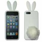 VOLTE-TEL ΘΗΚΗ IPHONE SE/5 FACEPLATE BUNNY-FLUFFYTAIL V062 WHITE