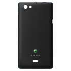 SONY ST23i XPERIA MIRO BLACK BATTERY COVER OR