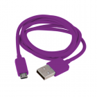 MICRO USB DEVICES USB ΦΟΡΤΙΣΗΣ-DATA 1m VCD01 VOLTE-TEL PURPLE