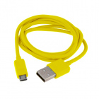 VOLTE-TEL MICRO USB DEVICES USB ΦΟΡΤΙΣΗΣ-DATA 1m VCD01 YELLOW