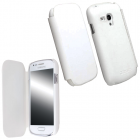 KRUSELL ΘΗΚΗ SAMSUNG I8190 PU LEATHER FLIPCOVER WHITE