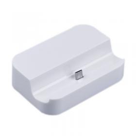 DOCKING STATION SAMSUNG I9505 S4/S3/micro USB WHITE VOLTE-TEL