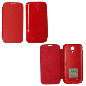 VOLTE-TEL ΘΗΚΗ SAMSUNG S4 I9505 BATTERY COVER BOOK RED