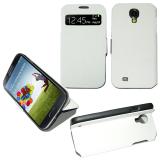 VOLTE-TEL ΘΗΚΗ SAMSUNG S4 I9505 S VIEW BOOK-STAND WHITE