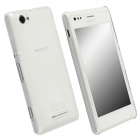 KRUSELL ΘΗΚΗ SONY XPERIA M FACEPLATE FROSTCOVER TRANSPARENT WHITE