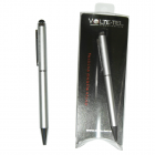 STYLUS TOUCH PEN 2in1 + ΣΤΥΛΟ UNIVERSAL VOLTE-TEL SILVER