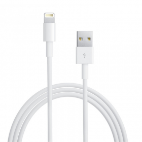 APPLE LIGHTNING MD818ZM/A USB ΦΟΡΤΙΣΤΗΣ-DATA 1m WHITE BULK OR