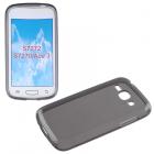 ΘΗΚΗ SAMSUNG S7275 ACE 3 3G SLIMCOLOR TPU GREY VOLTE-TEL