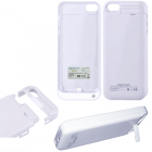 IPHONE 5C EXTERNAL (BATTERY CASE + STAND) 2200 mAh Li-Pol WHITE