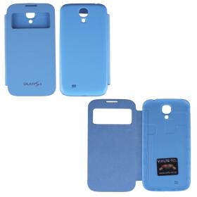 ΘΗΚΗ SAMSUNG GALAXY S4 I9505 BATTERY COVER VIEW BLUE VOLTE-TEL